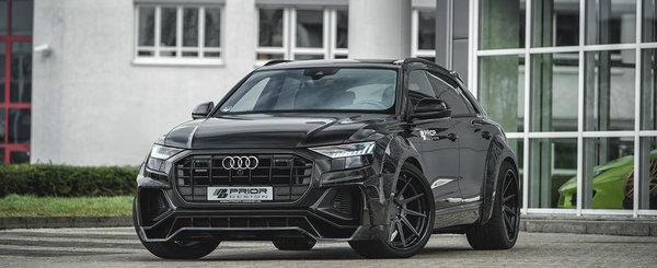 Sunt primii care au tunat noul Q8, cel mai luxos SUV de la Audi. Acum revin cu un pachet imbunatatit