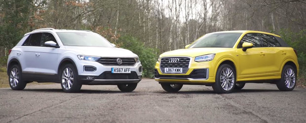 Sunt una si aceeasi masina, dar Audi-ul costa mai mult cu cateva mii de euro. Merita banii in plus?