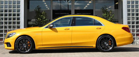 Suntem aproape siguri ca este unic in lume. Uite cu cat se vinde acest inedit Mercedes S65 AMG