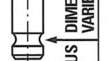 Supapa admisie MAZDA PREMACY (CP) (1999 - 2005) FR...