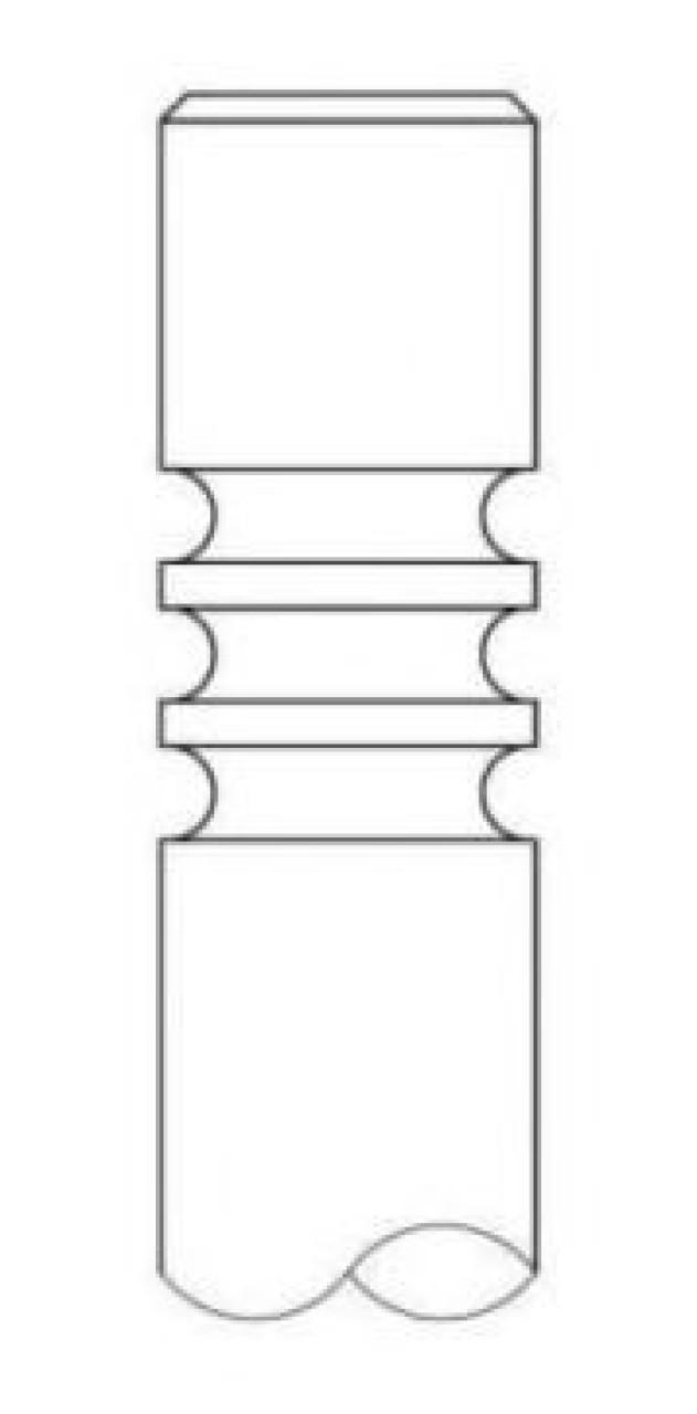 Supapa admisie OPEL ASTRA H GTC (L08) (2005 - 2016) INTERVALVES 1109.032 - produs NOU