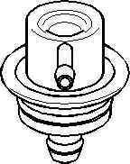 Supapa control presiune combustibil SEAT TOLEDO I 1L TOPRAN 108 125