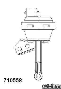 supapa de control vacuumEGR SEAT ALHAMBRA 7V8 7V9 Producator WAHLER 710558