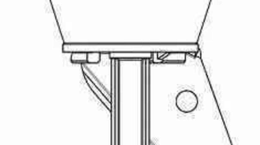 Supapa de control vacuumEGR SEAT LEON 1P1 Producator WAHLER 710413