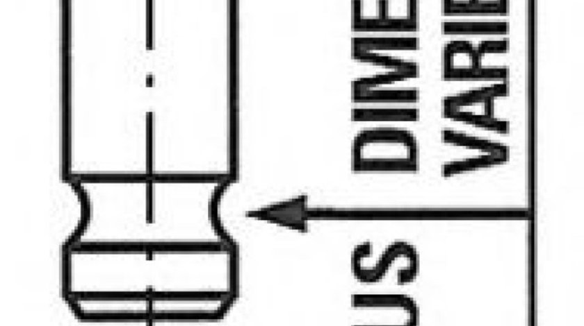 Supapa evacuare KIA SHUMA II limuzina (FB) (2001 - 2004) FRECCIA R6654/RNT produs NOU