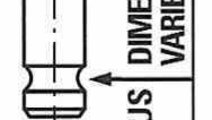 Supapa evacuare MAZDA MPV II (LW) FRECCIA R6416/RN...