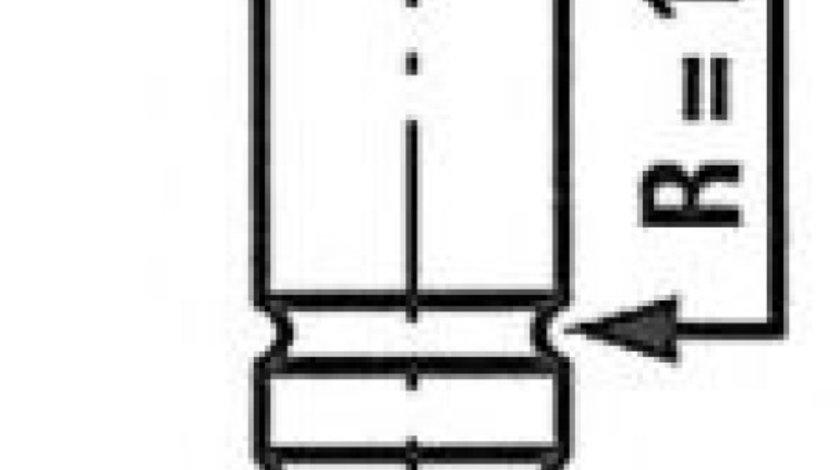 Supapa evacuare MERCEDES E-CLASS (W210) (1995 - 2003) FRECCIA R4760/RARNT - produs NOU