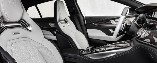 Super-coupe-ul cu patru portiere pe care nemtii de la Mercedes il vand doar in versiuni AMG a primit un facelift major