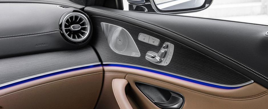 Super-coupe-ul cu patru portiere pe care nemtii de la Mercedes il vand doar in versiuni AMG a primit un facelift major. Cat costa in Romania noul model