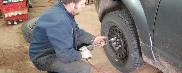 Super oferta pentru posesorii de Dacia si Renault: 60 lei pentru montajul si echilibrarea anvelopelor de iarna + depozitare