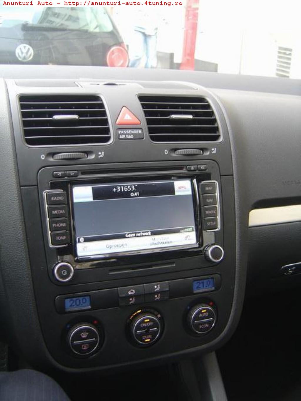 SUPER OFERTA !!! Sistem navigatie RNS 510 pentru VW GOLF 5 + harti Romania #546