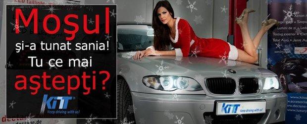 Super oferte de Craciun de la KITT Romania!