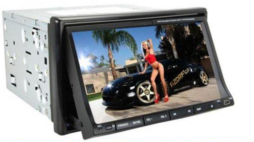 SUPER PRET!!! DVD 2 DIN CU GPS TV TUNER, TUCHSCREEN, DIVX, USB , SD SI CAR-KIT
