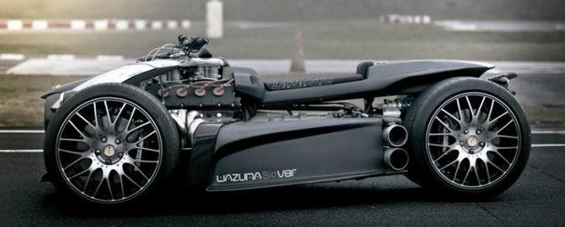 Super-quad-ul Wazuma are motor Ferrari si frane Brembo
