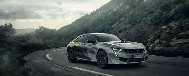 Super sedanul cu 400 CP de la Peugeot este tot mai aproape de lansare iar noile imagini te vor face sa-l vrei si mai tare