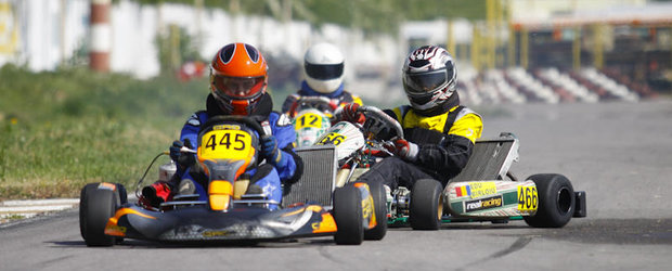Super week-end pe pista de karting din Bacau!