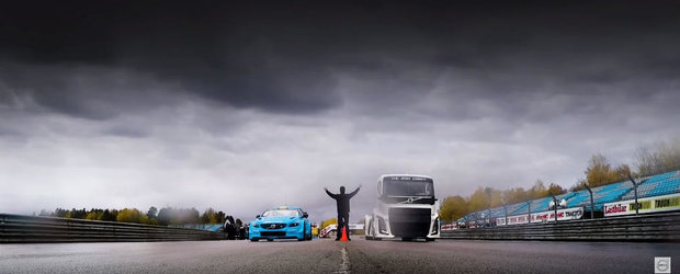 Supercamionul de 2.400 de cai al celor de la Volvo se pregateste de testul suprem