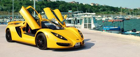 """Supercar-ul bulgaresc a primit un interior de la Vilner: """"Calitatea este identica cu cea a masinilor Pagani"""""""
