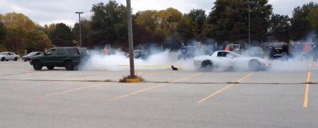 Supercar vs. SUV: Corvette vs. Blazer, cine castiga batalia tractarii?