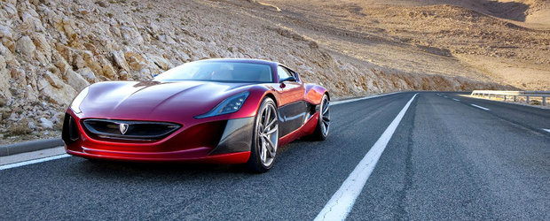 Supercarul croat Rimac One All-electric intra in productie