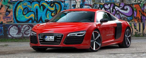 Supercarul electric Audi r8 e-tron intra in productia de serie