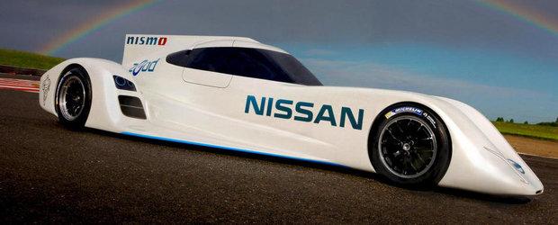 Supercarul Nissan ZEOD intra in Cursa de la Le Mans