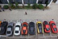 Supercaruri confiscate in Hong Kong