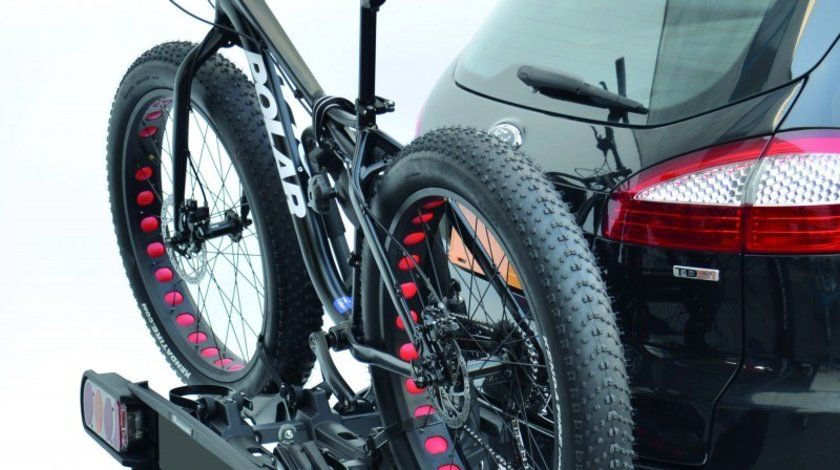 Suport auto pentru 2 biciclete, cu prindere pe carligul de remorcare - Peruzzo Pure Instinct Pliabil