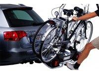 Suport auto pentru 2 biciclete, cu prindere pe carligul de remorcare - Peruzzo Siena 669