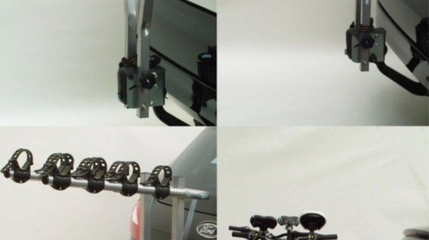 Suport auto pentru 3 biciclete cu prindere pe carligul de remorcare - producator Peruzzo Arezzo 667/