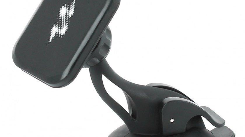 Suport auto pentru telefon Pulse Pro, cu fixare magnetica pentru telefon Kft Auto