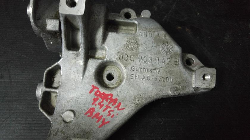 Suport compresor ac vw touran 1.4 fsi bmy 140 cp 2006-2010 03c903143b