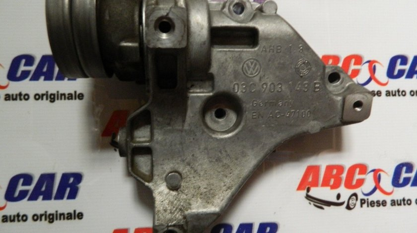 Suport compresor clima Audi A1 8X 1.4 TSI 170 CP cod: 03C903143B model 2011