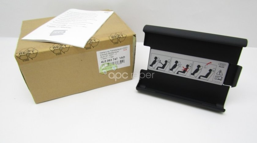 Suport DVD Player Original Audi - Cod: 4L0063747