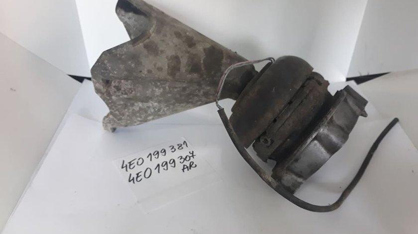 Suport motor cu tampon stanga Audi A8 4E D3 3.7 / 4.2 benzina 4E0199307AR / 4E0199381