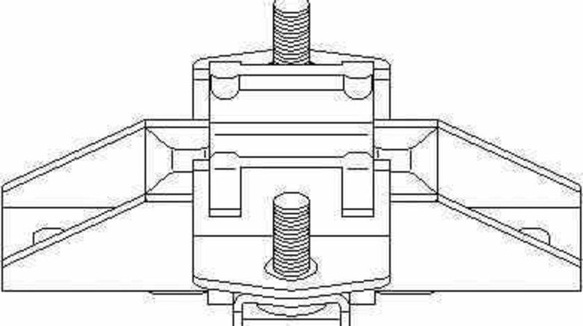 Suport motor MERCEDES-BENZ M-CLASS W163 TOPRAN 407 828