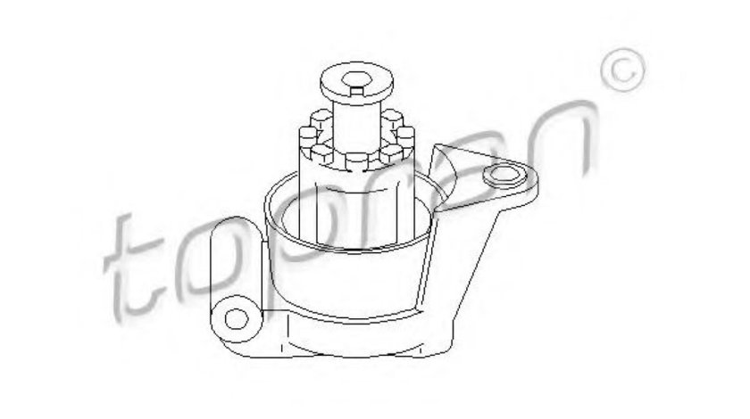 Suport motor OPEL ASTRA H (L48) (2004 - 2016) TOPRAN 205 857 piesa NOUA