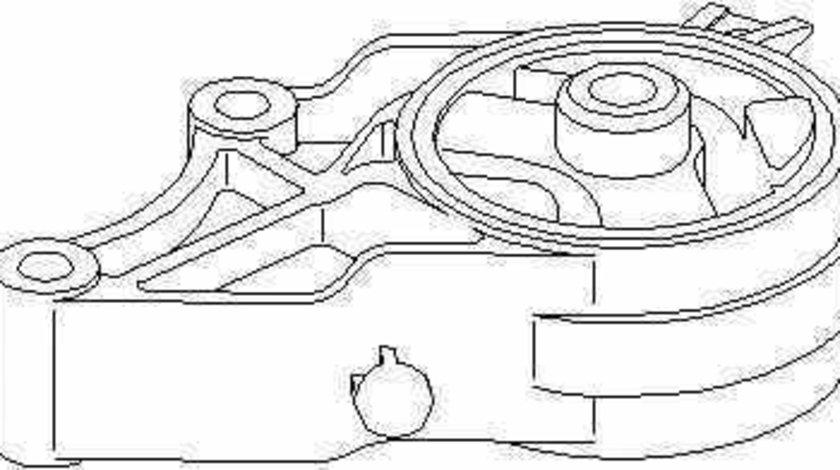 Suport motor OPEL VECTRA C GTS TOPRAN 206 577
