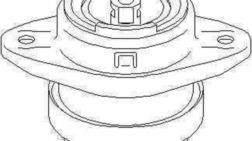 Suport motor PEUGEOT 106 I 1A 1C TOPRAN 720 376