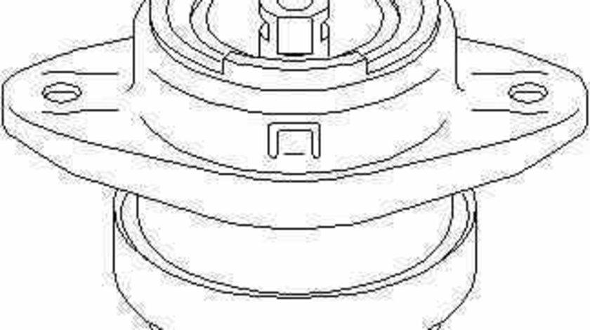Suport motor PEUGEOT 106 II 1 TOPRAN 720 376