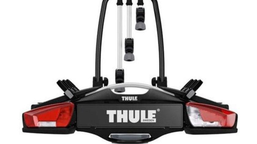 Suport pentru 3/4 biciclete cu prindere pe carligul de remorcare auto Thule VeloCompact 926