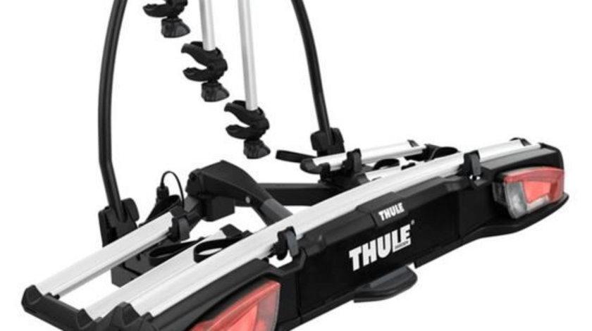 Suport pentru 3/4 biciclete cu prindere pe carligul de remorcare auto Thule VeloSpace 939 XT3