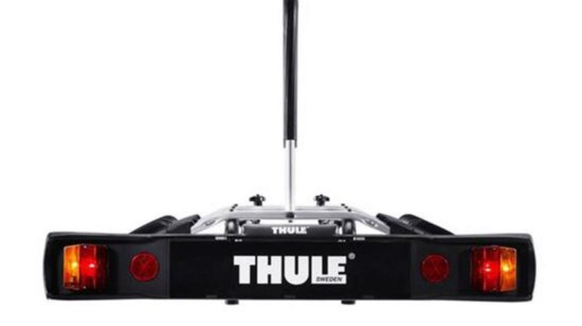 Suport pentru 3 biciclete cu prindere pe carligul de remorcare auto Thule RideOn 9503