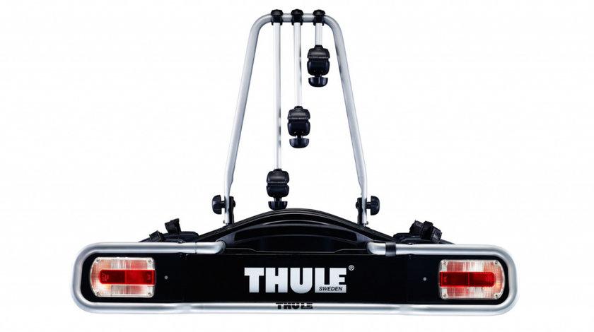Suport pentru 3 biciclete cu prindere pe carligul de remorcare auto Thule EuroRide 943