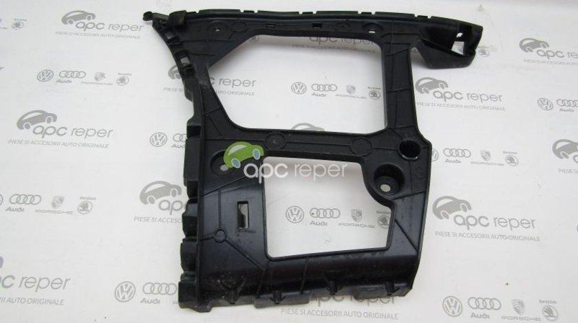 Suport plastic stanga bara spate Audi Q7 4M - Cod: 4M0807453A