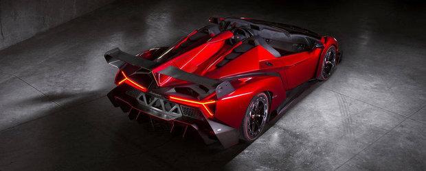 Surpriza de la CES 2014: Un Lamborghini Veneno Roadster cu modificari de 50.000 dolari