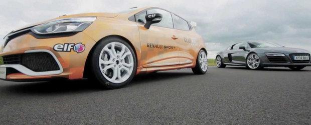 Surpriza de pe circuit: Renault Clio Cup, la fel de rapid ca un Audi R8 V10 Plus