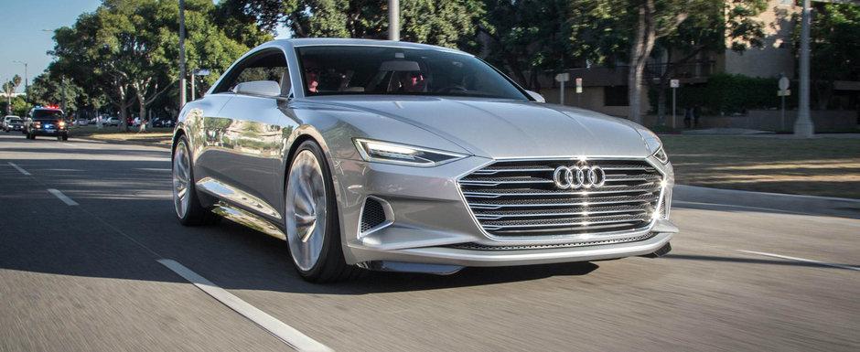 Surpriza nemtilor de la Audi pentru BMW si Mercedes. Cum arata noile A6, A7 si A8