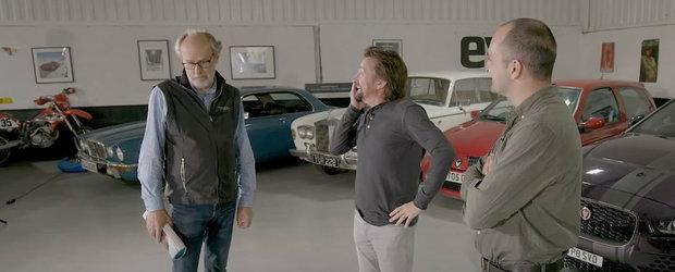Surpriza pentru Richard Hammond. Si-a revazut vechiul Ferrari, pe care regreta ca l-a vandut si in ziua de azi