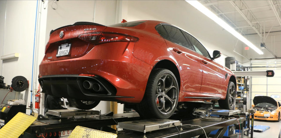 Surprize neplacute la dyno: cati cai putere are, de fapt, Alfa Romeo de 510 cp?